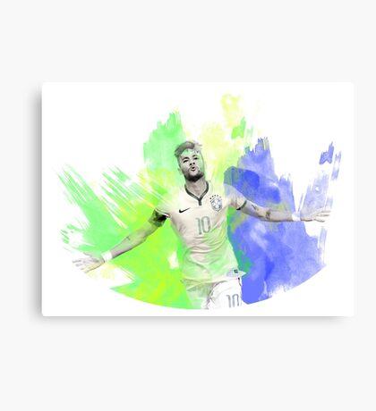 Neymar Jr FC Barcelona Canvas Print