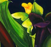 Midnight Lilies Sticker