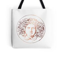 Rose Gold-like Medusa Tote Bag