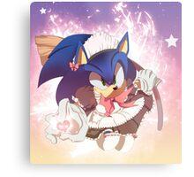 Sonic: Maid Metal Print
