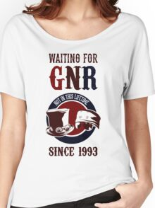 Waiting for classic GNR Not in this lifetime Women's Relaxed Fit T-Shirt