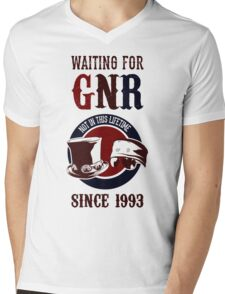 Waiting for classic GNR Not in this lifetime Mens V-Neck T-Shirt