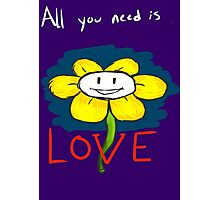 Love from Flowey  Photographic Print