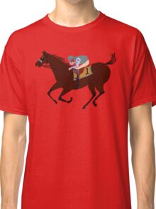 The Racehorse - Horse Racing Apparel & Gifts Classic T-Shirt