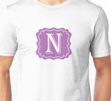 N Turquoise Unisex T-Shirt