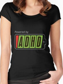 Powered By ADHD Women's Fitted Scoop T-Shirt
