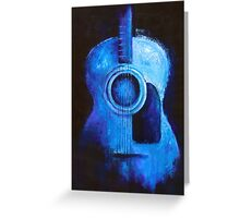 The Forgotten Guitar Greeting Card