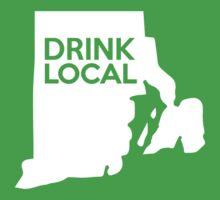 Rhode Island Drink Local RI One Piece - Short Sleeve