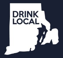 Rhode Island Drink Local RI Kids Tee