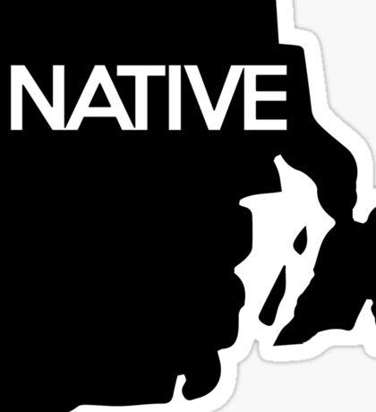 Rhode Island Native RI Sticker