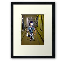 OUT OF PLACE Framed Print