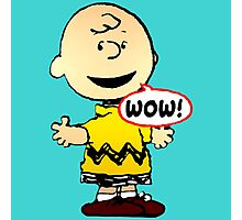Charlie Brown Wow Photographic Print