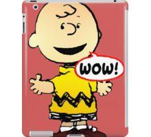 Charlie Brown Wow iPad Case/Skin