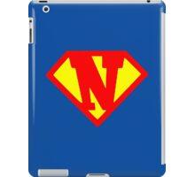 Super N iPad Case/Skin