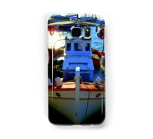 Greek fishing boat Samsung Galaxy Case/Skin