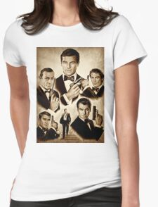 Licence to kill Womens Fitted T-Shirt
