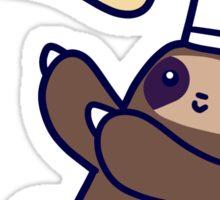 Baker Sloth Pizza Dough Sticker