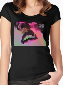 Psycho GLITCH Women's Fitted Scoop T-Shirt
