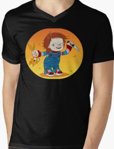 CHUCKY BUNNY Mens V-Neck T-Shirt