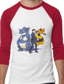 Nidoking Pokemon Detective Men's Baseball ¾ T-Shirt