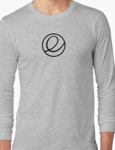 Elementary OS logo Long Sleeve T-Shirt