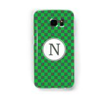 N Checkard II Samsung Galaxy Case/Skin
