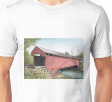 Barracksville Covered Bridge Unisex T-Shirt