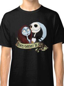 Jake and Sally Nightmare Before Christmas Love Classic T-Shirt