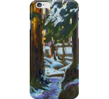 Sunny Morning in a Forest iPhone Case/Skin