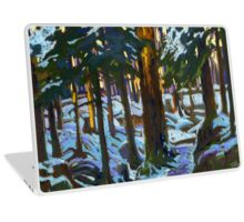 Sunny Morning in a Forest Laptop Skin