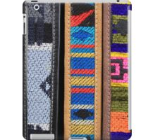 Belts at the Market iPad Case/Skin