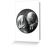the non-color lovers Greeting Card