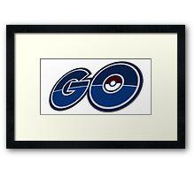 Go to Pokémon! Framed Print