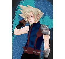 Cloud Strife - Final Fantasy VII Photographic Print