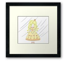 Princess On The Pea Framed Print