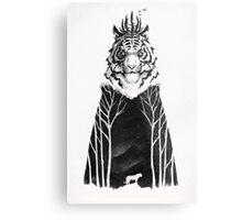 The Siberian King Metal Print