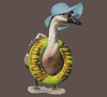 Summer Goose One Piece - Short Sleeve