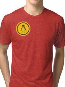 Tux Logo Tri-blend T-Shirt