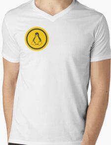 Tux Logo Mens V-Neck T-Shirt