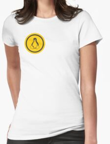 Tux Logo Womens Fitted T-Shirt
