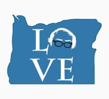 Oregon Bernie Love Kids Tee