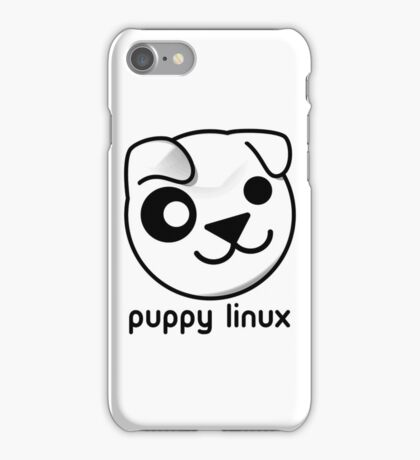 puppy linux iPhone Case/Skin