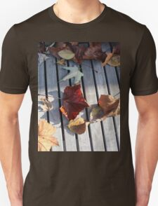 Autumn Leaves Three Unisex T-Shirt