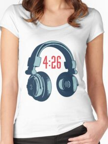 4:26 Women's Fitted Scoop T-Shirt