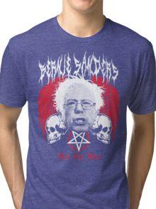 FEEL THE BERN Heavy Metal Bernie Sanders Shirt Tri-blend T-Shirt