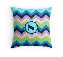 N Broadway Throw Pillow