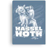 HasselHOTH Canvas Print