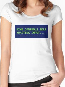 Mind Control Women's Fitted Scoop T-Shirt