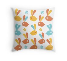 Easter Modern Twist Pattern Throw Pillow