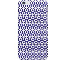 Female Sign-Pattern iPhone Case/Skin